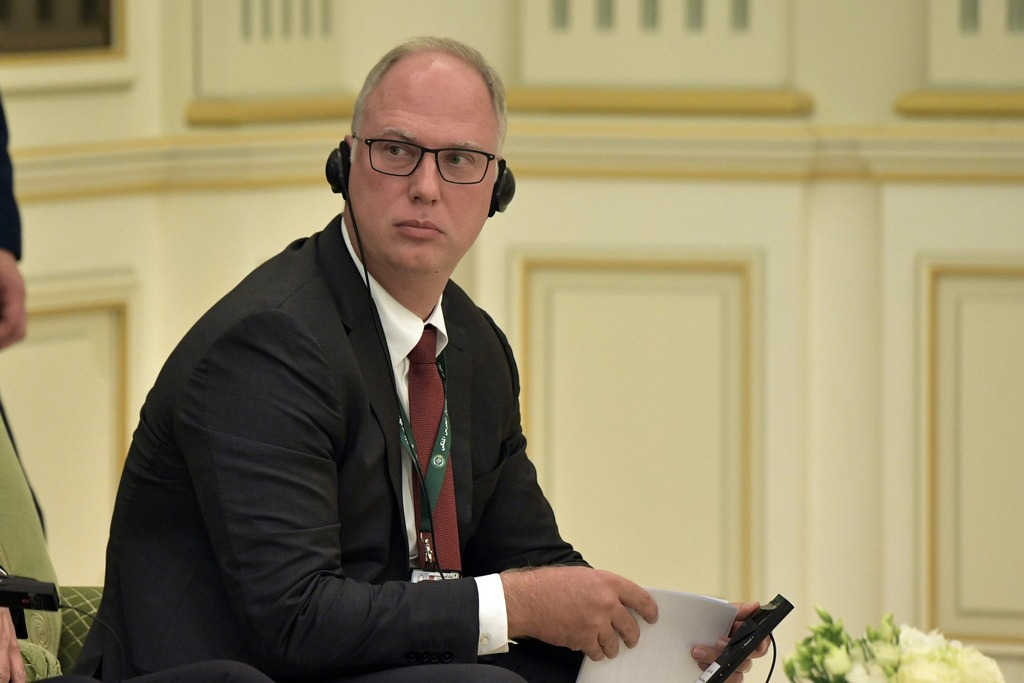 Kirill Dmitriev at the first meeting of Russian-Saudi Economic Committee
