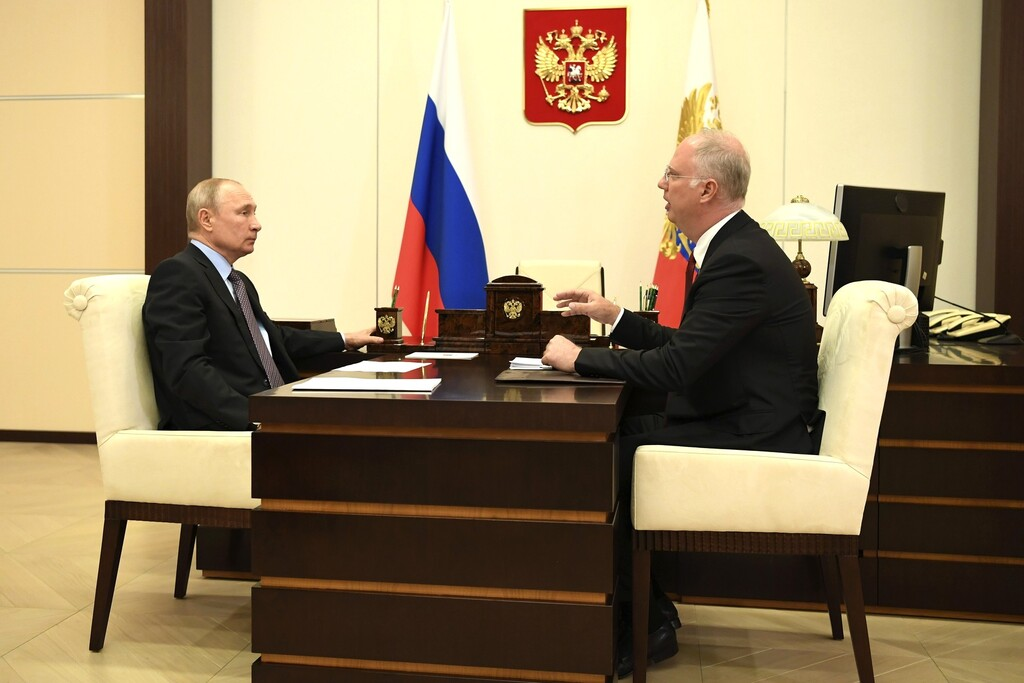The President met with CEO of the Russian Direct Investment Fund Kirill Dmitriev